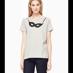 Kate Spade Women's Steal The Scene Tee Size M